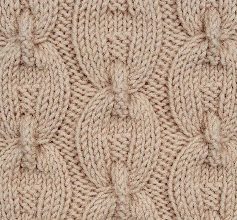 Вязанные косы на спицах со схемами